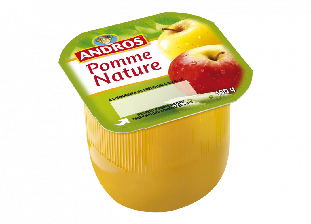 ANDROS Dessert Fruitier® Pomme Nature