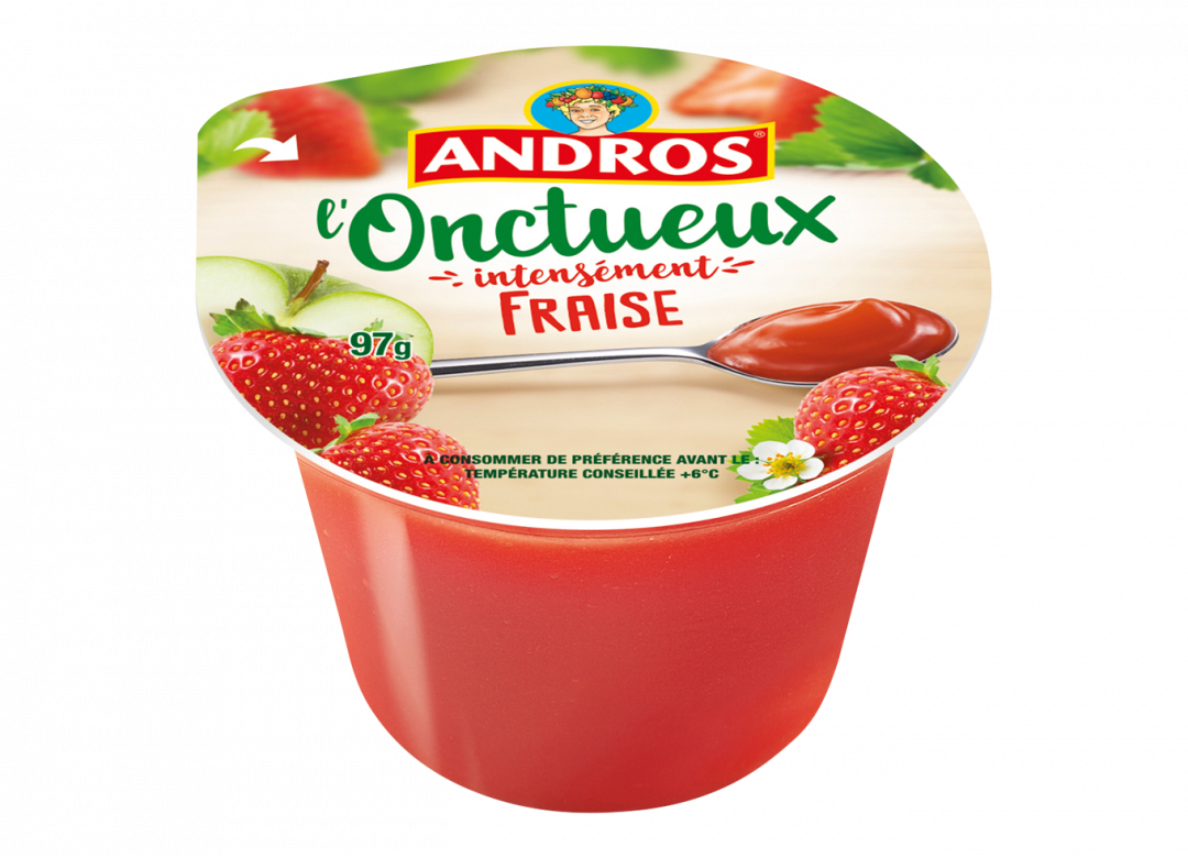 ANDROS Onctueux Fraise